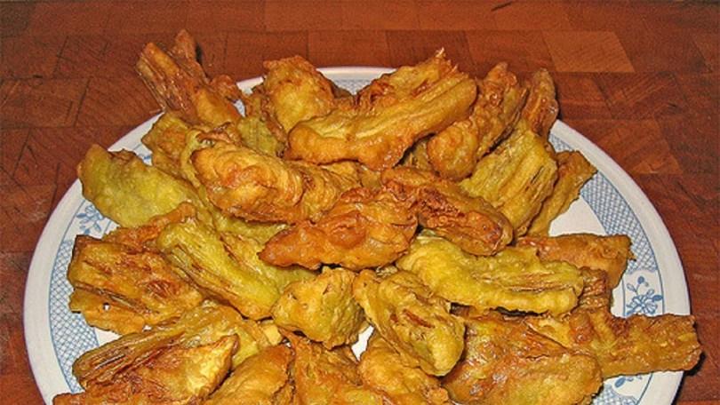 Fried Artichoke Hearts - Carciofi Fritti