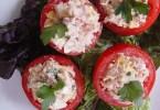 Tomatoes Stuffed with Tuna - Pomodori al Tonno - Onlinerecipe.website