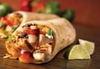 Chicken and Spinach Burritos