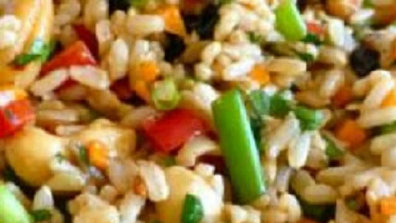 Spanish Rice Salad - Ensalada de Arroz