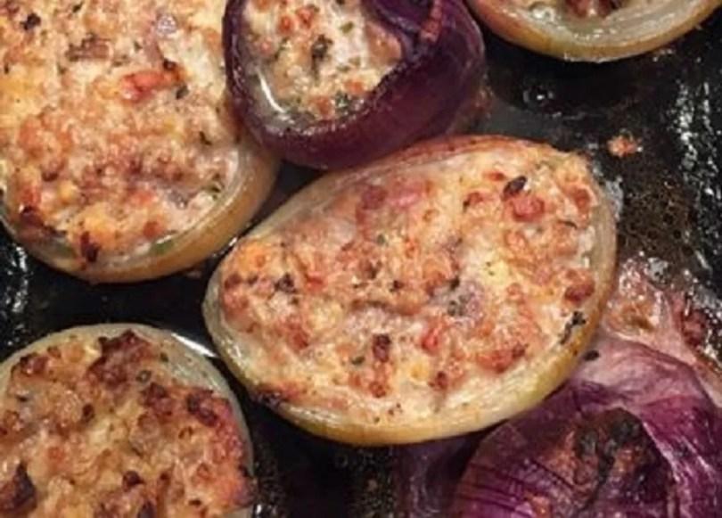 Stuffed Onions - Cipolle Ripiene