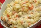 Uruguayan Potato Salad - Ensalada Rusa
