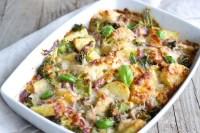 Halibut, Broccoli, and Tomato Casserole - TheRecipe.Website