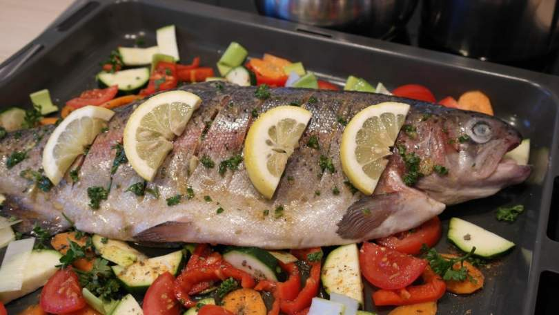 Baked Rainbow Trout - Therecipe.website