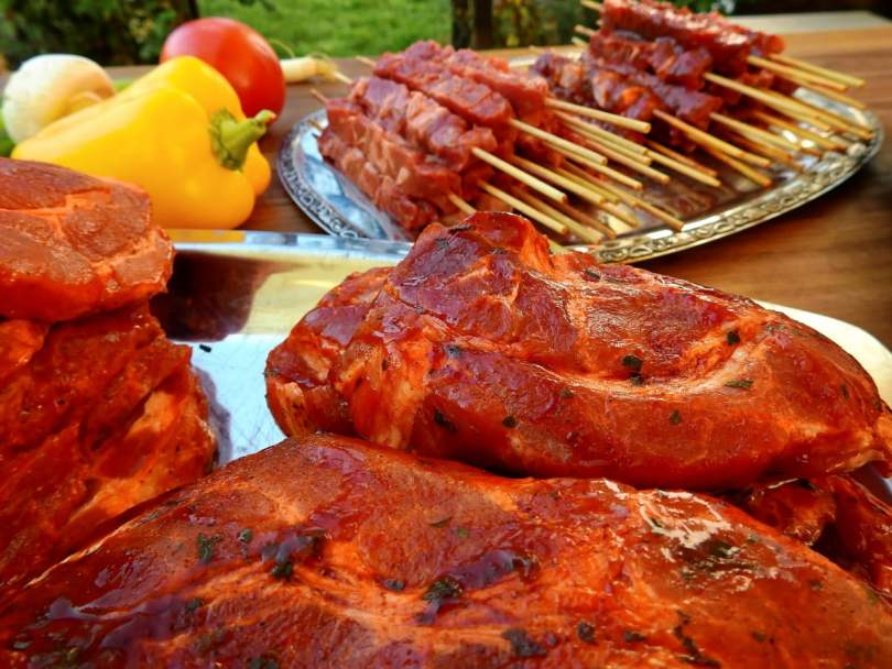 Tandoori Chicken Skewers - TheRecipe.Website