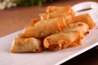 Chicken and Vegetable Spring Rolls - TheRecipe.Website