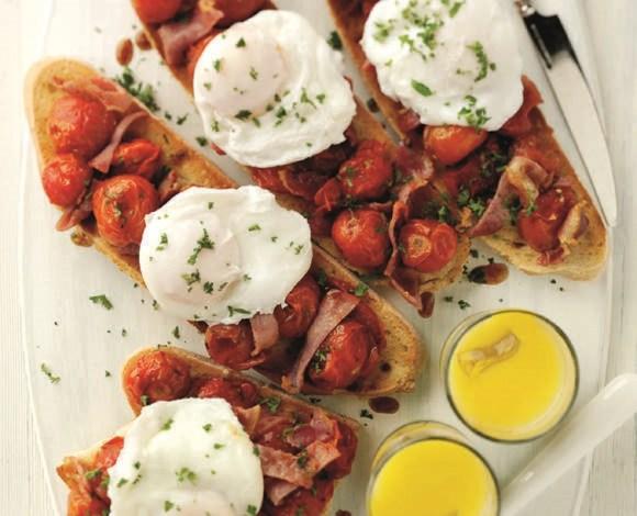 Breakfast Brushetta - TheRecipe.Website