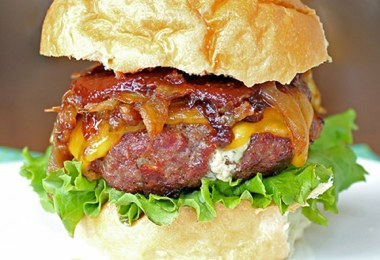 Bacon and Blue Burger