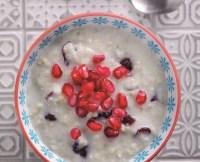 Cranberry and Pomegranate Porridge