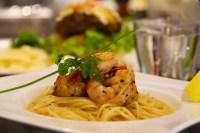 Simple Prawn Spaghetti