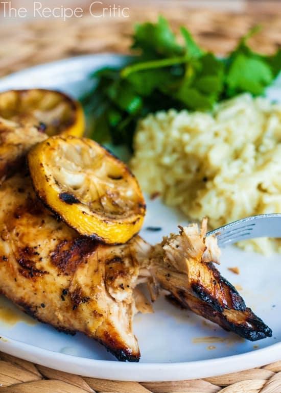 grilled lemon pepper chicken the recipe critic