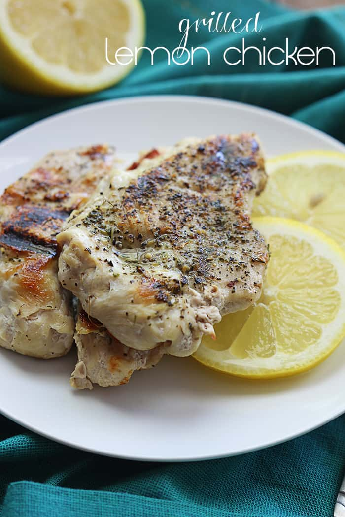 grilled lemon chicken the recipe critic
