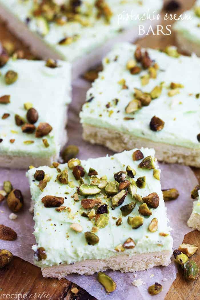 Pistachio cookie recipe cream cheese