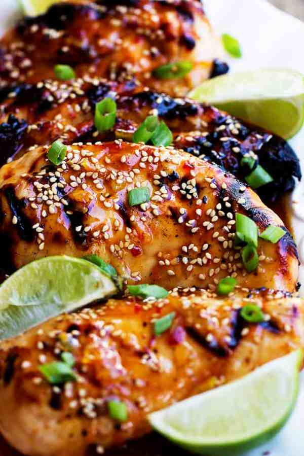 Grilled Sweet Chili Lime Chicken The Recipe Critic