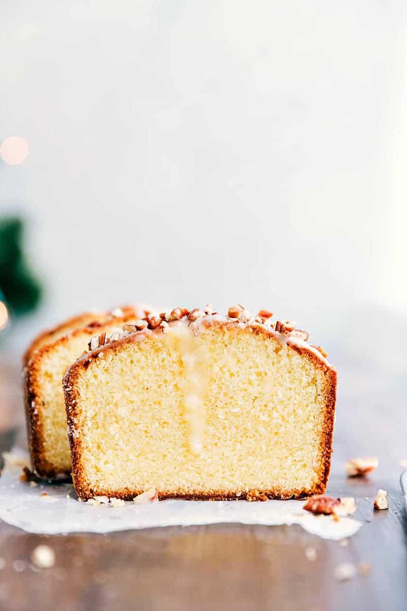 Glazed Eggnog Pound Cake | The Recipe Critic