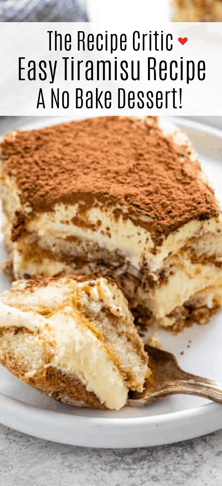 Lady Finger Tiramisu Cake Recipe : finger, tiramisu, recipe, Tiramisu, Recipe, Critic