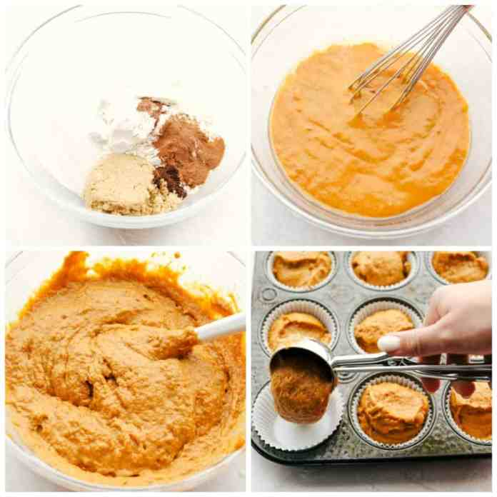 How to make soft, fluffy perfect pumpkin muffins.