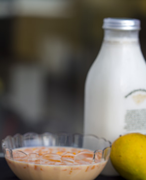 mango milk - aka aam doodh