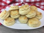 Mile high buttery and flaky biscuits