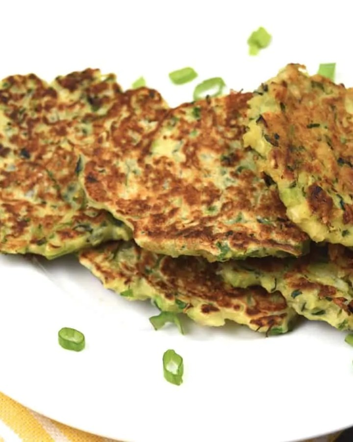 Deliciously Healthy and easy Zucchini fritters