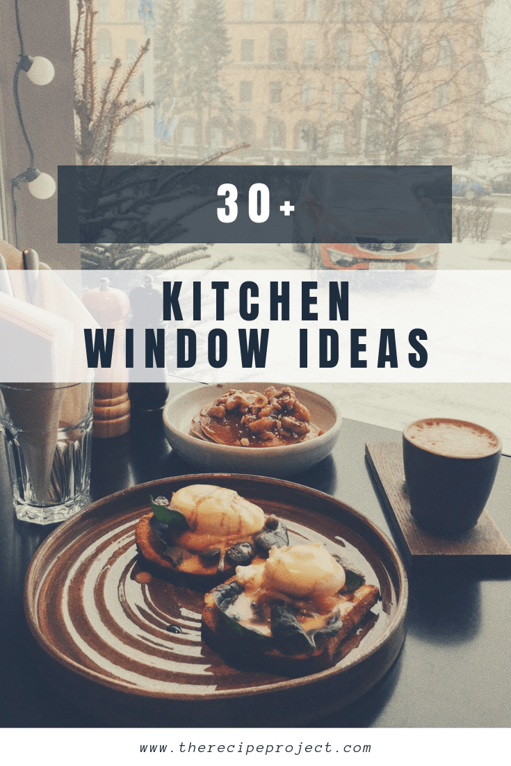 30+ Kitchen Window Ideas (Modern, Large, and Small Kitchen Window Dressing Ideas)