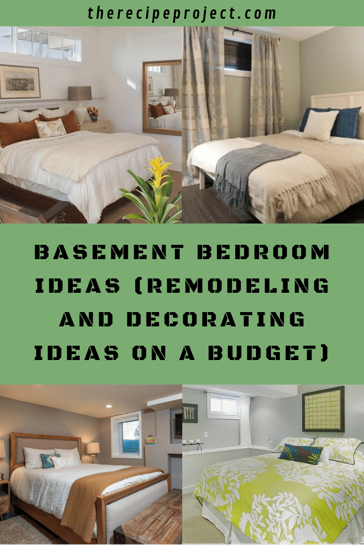 Basement Bedroom Ideas (Remodeling and Decorating Ideas on a Budget)