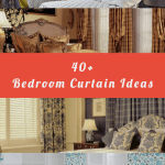 40+ Bedroom Curtain Ideas (For Master, Small, and Children Bedroom)