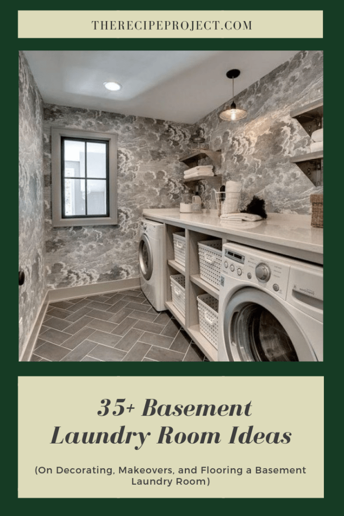 35+ Basement Laundry Room Ideas (on decorating,makeover,and