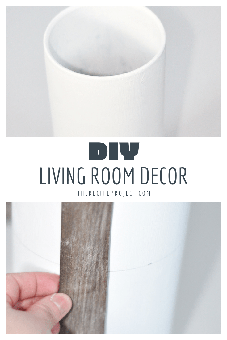 diy rustic living room decor