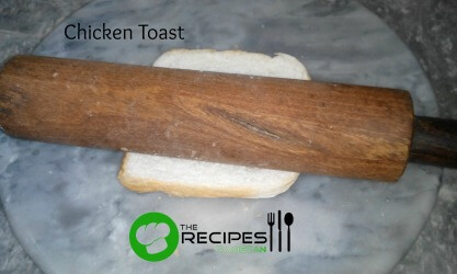 How to Make Chicken Toast Step 1