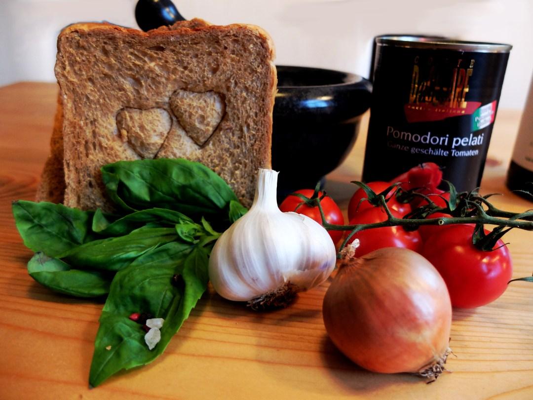 Vorbereitung Tomatensuppe