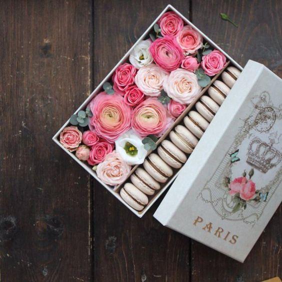 Blumen in einer Box