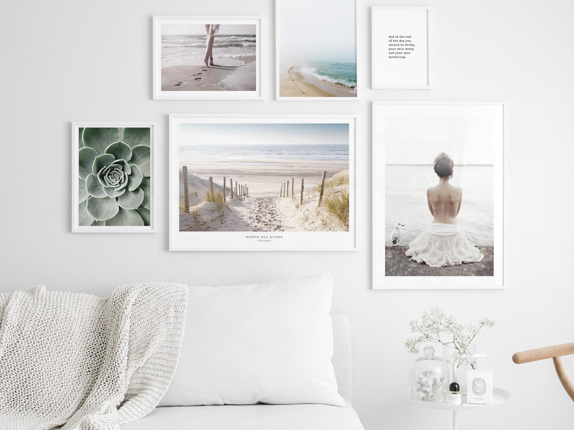 In 19 Schritten zur perfekten Bilderwand