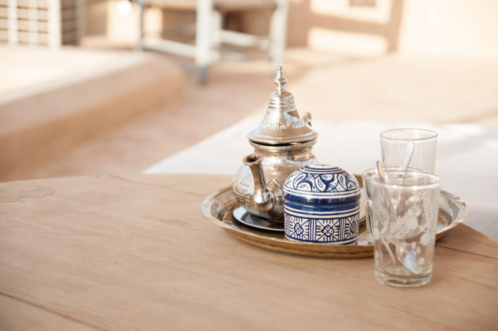 Teetassen in Marokko