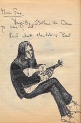 School roughbook - Musician in Desert Boots