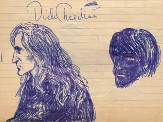 36 SB Sketch of Dick Tresilian