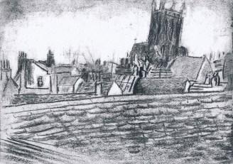 60 Cambridge roof tops/recklessftruit1/janeadamsart