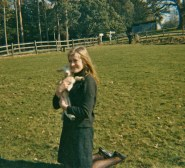 Jane age 15 with lamb/recklessfruit1