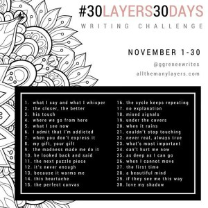 The Recovering Pessimist: #30Layers#30Days Writing Challenge -- I'm looking forward to peeling away the layers...poetically.   www.therecoveringpessimist.me #30layers#30days #amwriting #recoveringpessimist #optimisticpessimist
