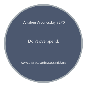 """The Recovering Pessimist 