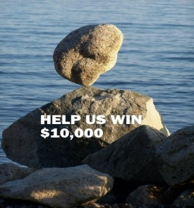 2018 Help Us Win 10000 rocks