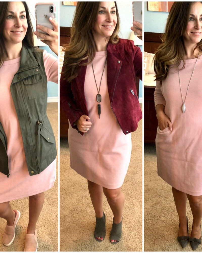 3 Ways- Boden Jasmine Ottoman Dress