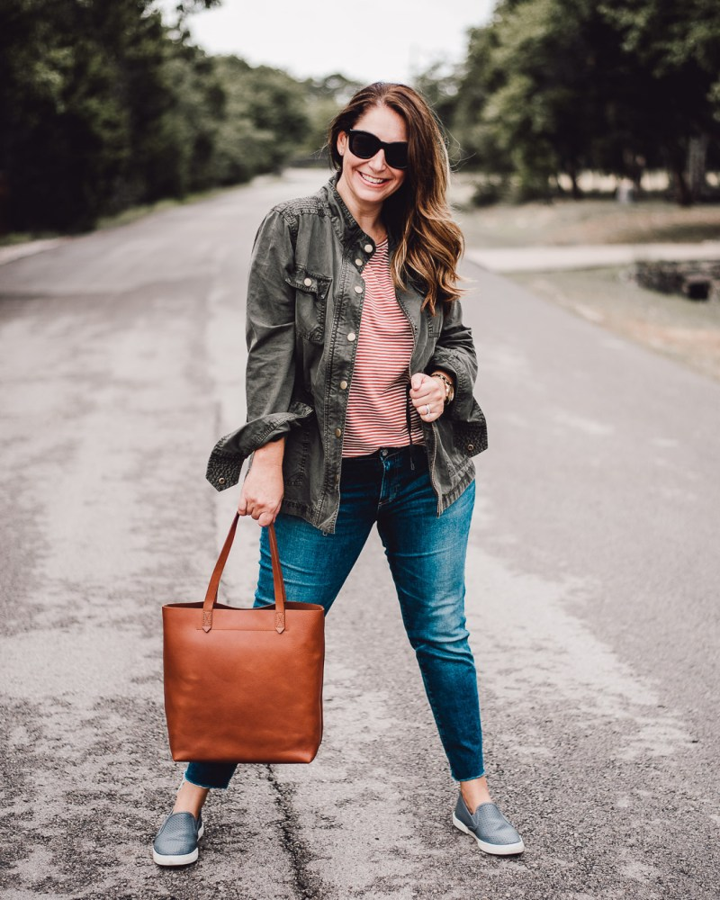 My Madewell Tote journey