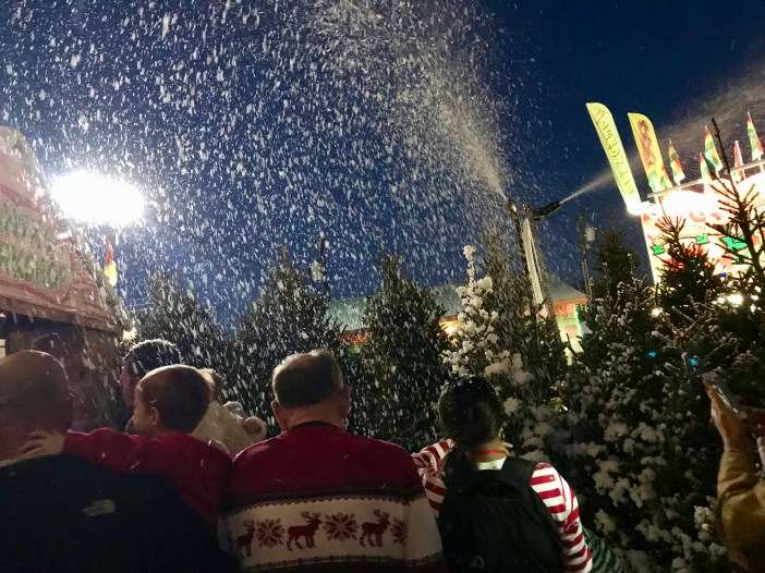 Bubble Snow at North Pole Express