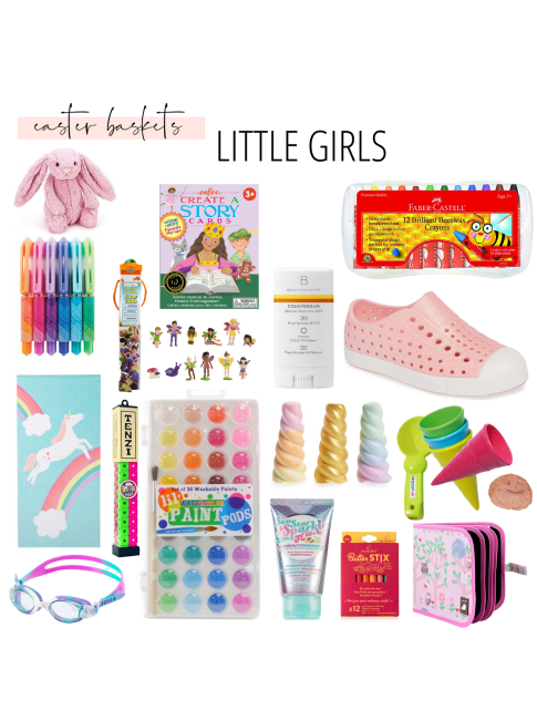 Copy of Girls Easter Basket Ideas