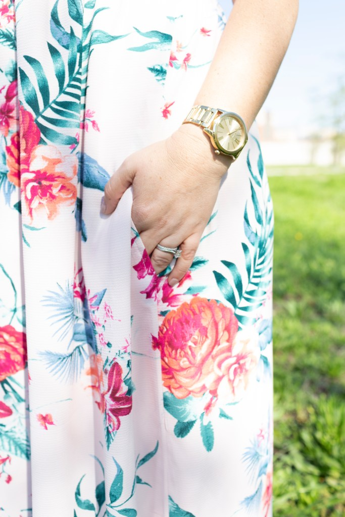 Spring Dresses 2019: Maxi Dress with lining and pockets!   #pinkmaxidress #maxidress #springdresses #resortwear #vacationdress