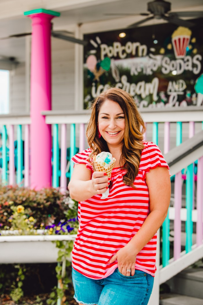 Grab some ice cream when you visit Hey Sugar in Roanoke, TX