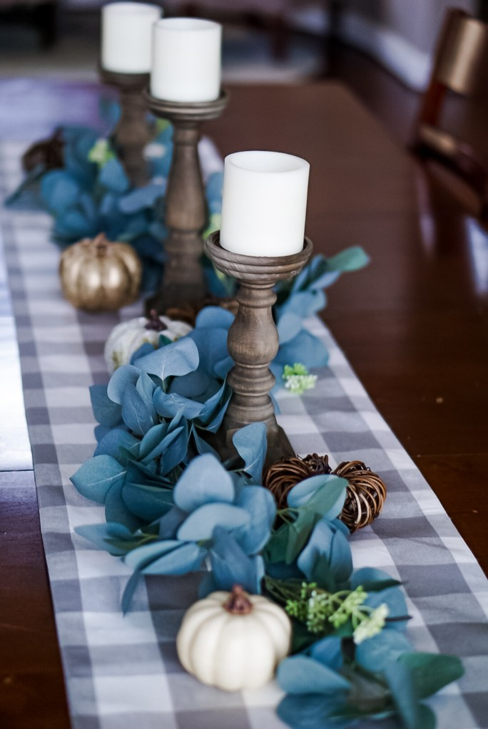 Fall Table Centerpiece #fall decor #pumpkins #homedecor