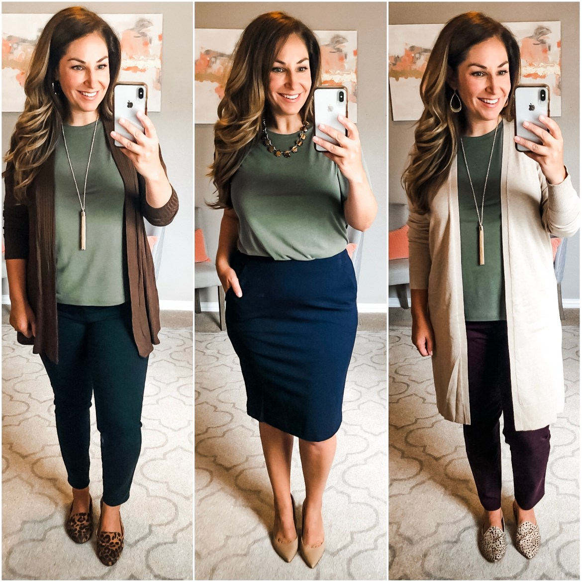Fall 2019 Target Business Casual Capsule Wardrobe: 18 pieces for under $315