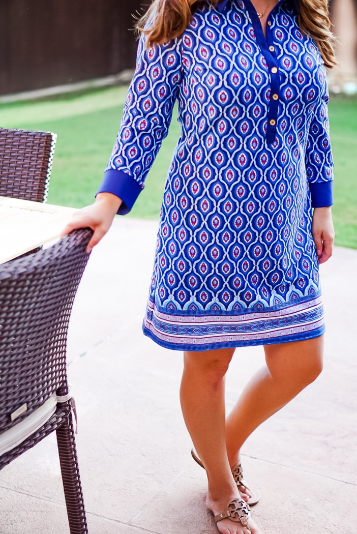 Cabana Life New England Button Down Dress on The Recruiter Mom.